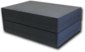 billet stack of graphite material